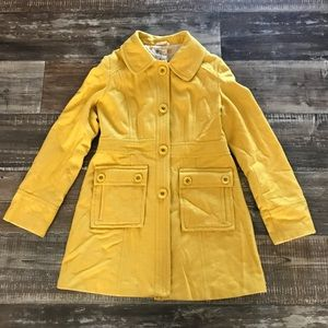 Anthropologie Tulle Coat